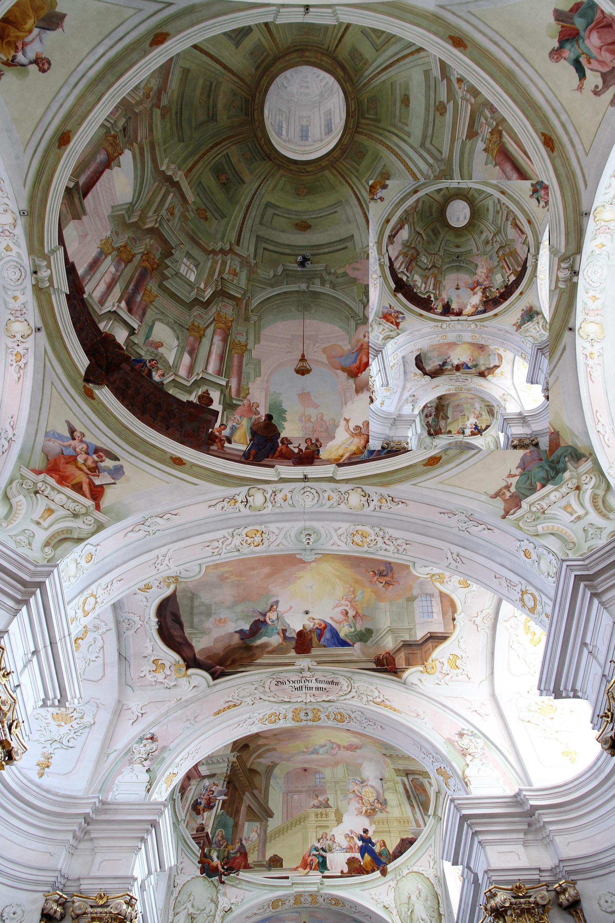 Maria Langegg - Kirche, Deckenfresko  © Bwag/CC-BY-SA-4.0